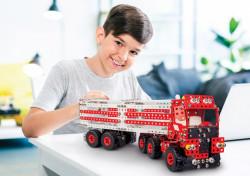 Set constructie Camion Premium 10 in 1 Pro, 1141 piese, pentru copii