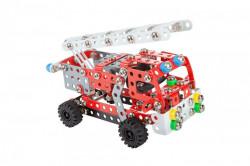 Set constructie Masina de pompieri Fire Engine, 314 piese