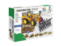 Set constructie Scratch 7 in 1 Pro, 813 piese si modele in cutie