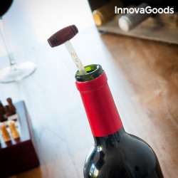 set sah din lemn si accesorii pentru vin 2
