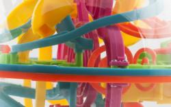 Joc labirint 3D multicolor 6