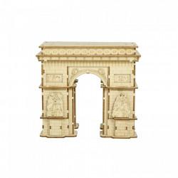 Puzzle 3D din lemn Arcul de Triumf