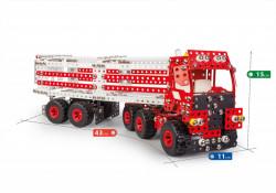 Set constructie Camion Premium 10 in 1 Pro, 1141 piese dimensiuni