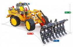 Set constructie Scratch 7 in 1 Pro, 813 piese dimensiuni