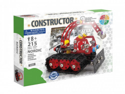 Set constructie Tractor de zapada Nordic, 215 piese in cutie