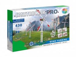 Set constructie Turbina eoliana 5 in 1 Pro, 430 piese in cutie