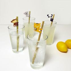 Set paie vesele din bambus 1