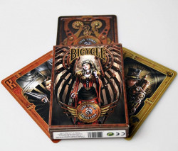 carti de joc Bicycle Anne Stokes Steampunk 2