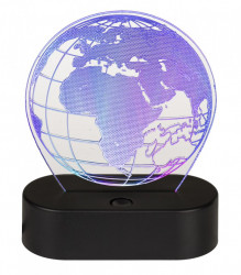 Lampa 3D Glob