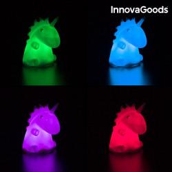 lampa de veghe pentru copii unicorn multicolor