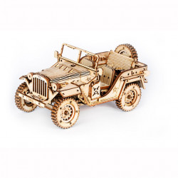 puzzle 3d din lemn masina militara 1