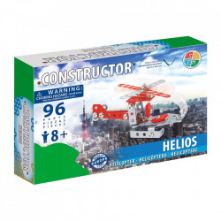 Set constructie Elicopter Helios, 96 piese in cutie