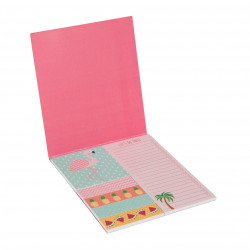 Sticky notes flamingo