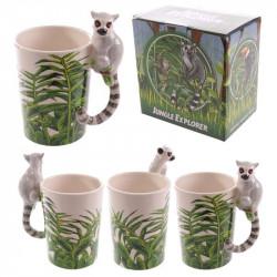 Cana cu lemur 1