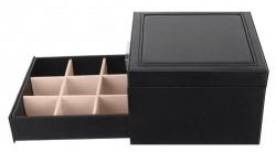 Cutie pentru bijuterii cu sertar si cheita 5
