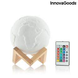 Lampa Glob Pamantesc 3D cu telecomanda