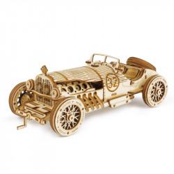 Puzzle 3D lemn Masina de curse