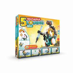 Robby robotul programabil 5 in 1 in cutie