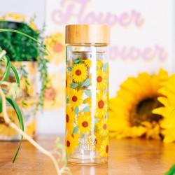Sticla cu infuzor floarea soarelui