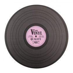 Suport farfurii Disc Retro roz