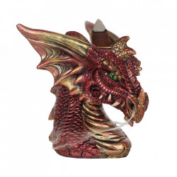 Vas aromaterapie cascada de fum Red Dragon