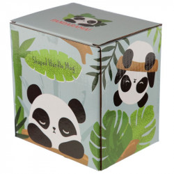 Cana cu panda pe toarta in cutie