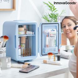 Mini frigider pentru cosmetice bleu