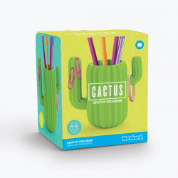 Organizator de birou cactus in cutie