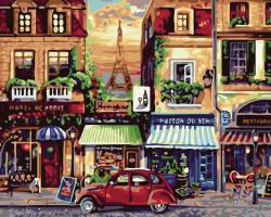 Pictura pe numere Vechiul Paris