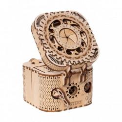 Puzzle 3D din lemn Cutia pentru comori