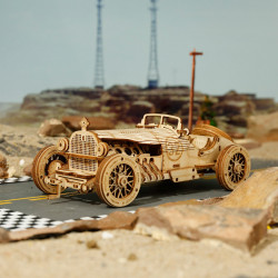 Puzzle 3D lemn Masina de curse pe strada
