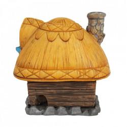 spate casuta galbena suport pentru conuri parfumate aromaterapie
