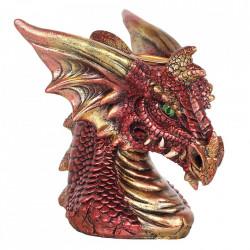vas aromaterapie cascada de fum dragon rosu