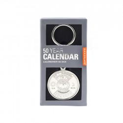 Breloc calendar 50 de ani in cutie