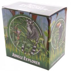 Cana cu lemur in cutie