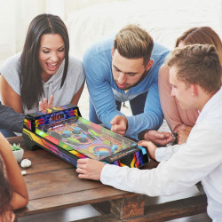 joc arcade Pinball cu prieteni
