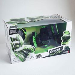 Masina cu telecomanda Ghost verde in cutie