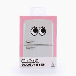 Ochi magnetici cu gene pentru frigider Googly Eyes Lashes 3