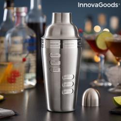 Shaker pentru cocktail cu retete integrate