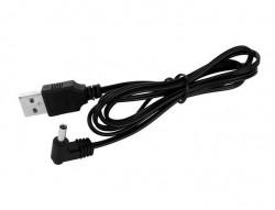Ceas multifunctional 4 in 1 cu afisare Led Negru cablu USB