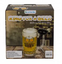 Halba de bere cu sonerie in cutie