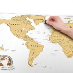 Harta razuibila a lumii Original Luckies 3