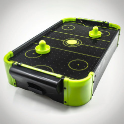 Joc Air Hockey neon verde