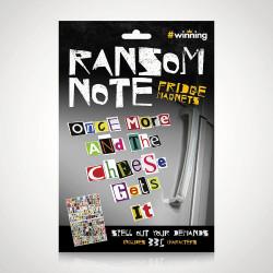 Magneti de frigider Ransom notes 1