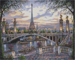 Pictura pe numere Paris