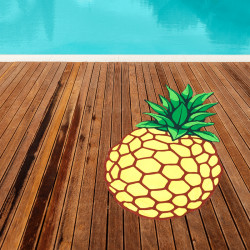 Prosop plaja ananas