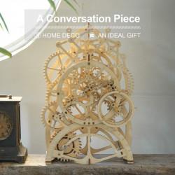 puzzle 3d din lemn ceas cu pendul 1