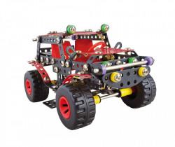 Set constructie Masina de teren Ranger Black, 354 piese