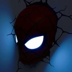 Lampa 3D Philips Spiderman aprinsa