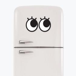 """Ochi magnetici cu gene pentru frigider """"Googly Eyes Lashes"""""""